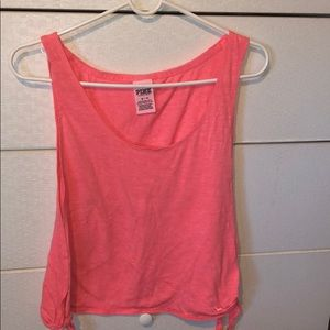 BRIGHT PINK TANK TOP FROM PINK VICTORIAS SECRET